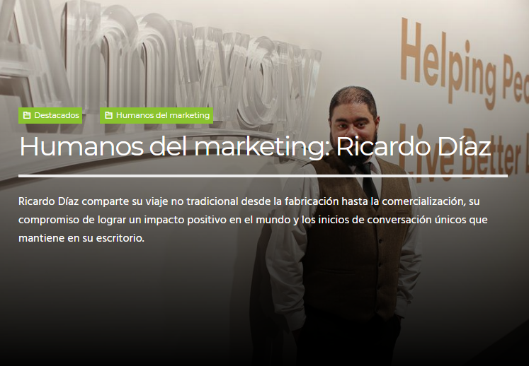 SEO: Humanos del Marketing. Ricardo Díaz