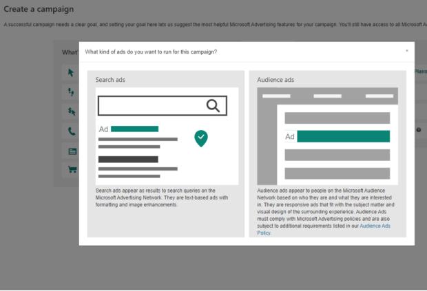 SEM: Configurar una campaña publicitaria de Microsoft Audience