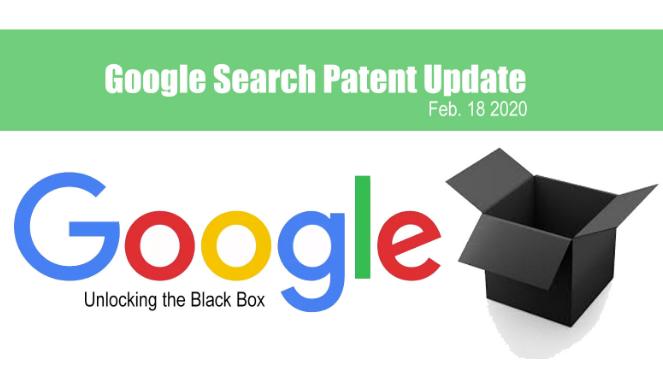 Google: Actualización de patentes de búsqueda de Google
