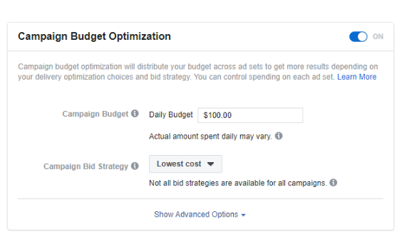 Facebook: Cómo utilizar la optimización del presupuesto