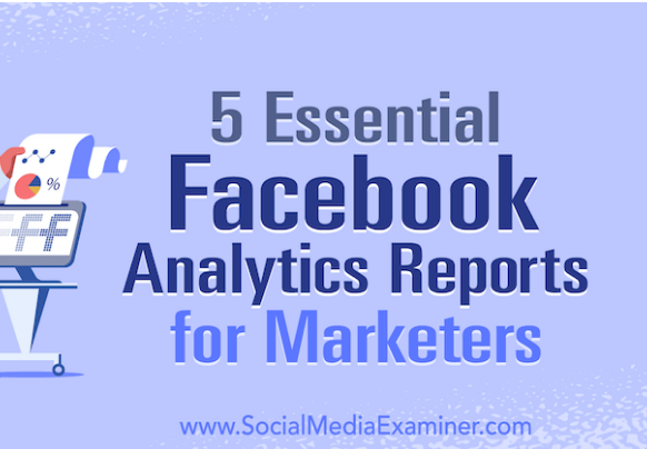 Facebook: 5 informes esenciales de Analytics para Marketers