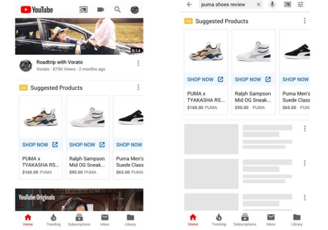Google: Extiende los anuncios de Shopping a YouTube