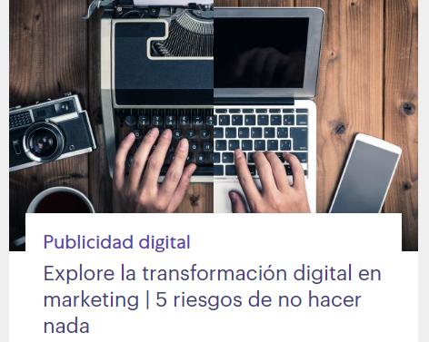 eCommerce: Transformación digital: 5 riesgos de no hacer nada
