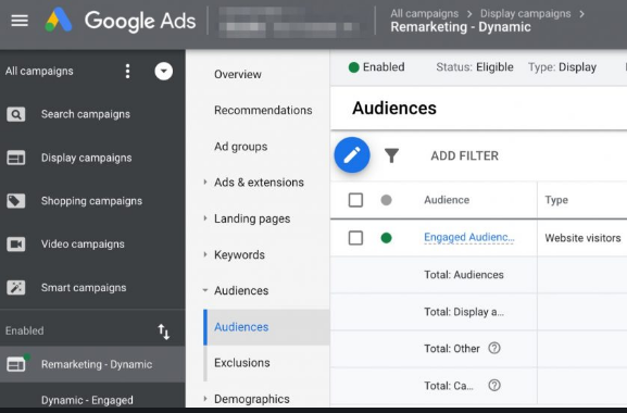 AdWords: Anuncios Display Responsive para reMarketing sin coste