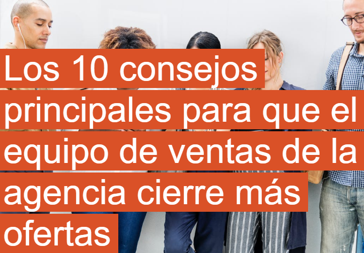 PYME: 10 consejos para que tus vendedores sean más efectivos