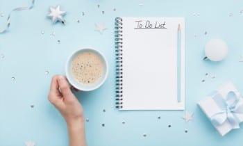 Comprobar elementos de la lista de tareas para los días festivos