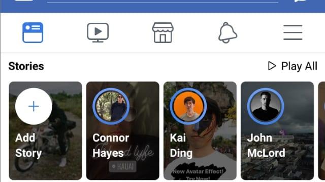 Facebook realmente quiere que la gente use historias
