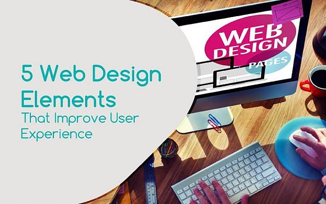 Diseño: 5 elementos de Diseño Web que mejoran la experiencia