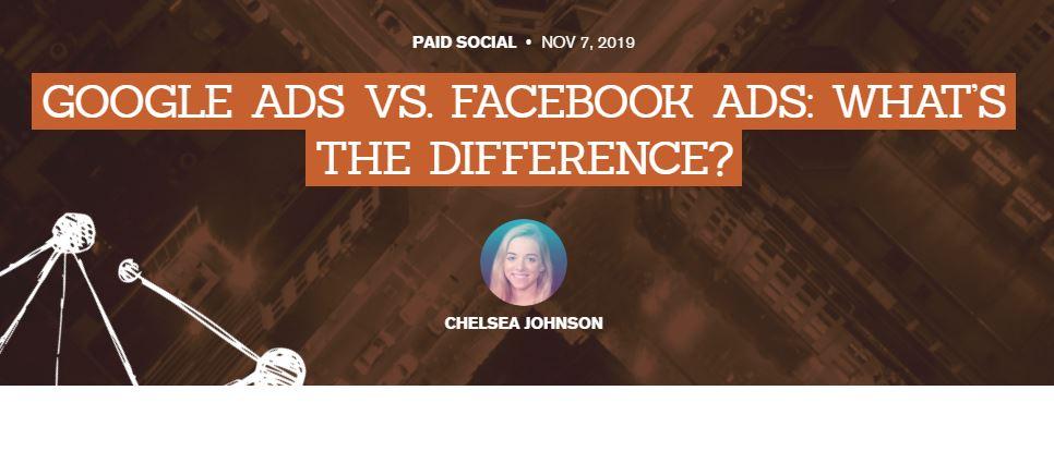 SEM: AdWords vs Farebook, ¿cuál es la diferencia?