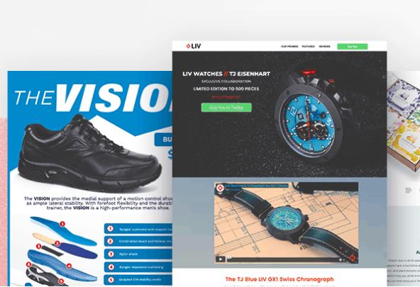 Diseño: 27 Ejemplos de Landing Pages para vender en 2020