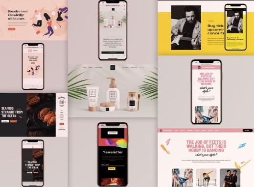 Diseño:  Ejemplos de webs responsive que lo hicieron bien