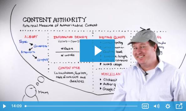 SEO: Autoridad en el Contenido: posibles ratios de autoridad