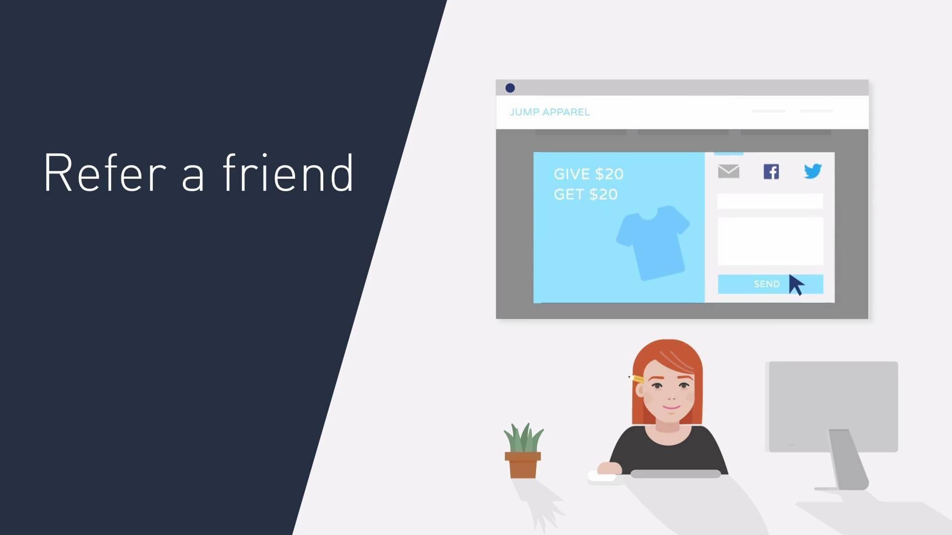 Friendbuy: Programas de referencia, seguimiento  y optimización