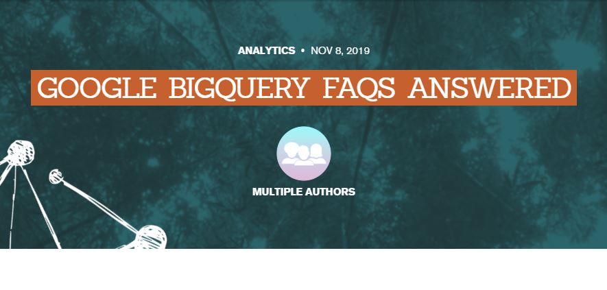 Google: Preguntas frecuentes sobre Google BigQuery