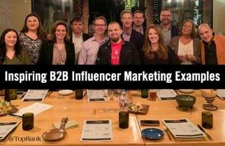 Ejemplos inspiradores de B2B Influencer Marketing en acción