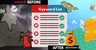 Optimizar su lista de palabras clave de búsqueda pagada en 3 pasos