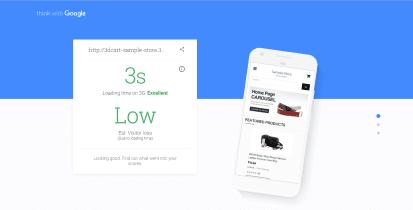 La velocidad de la página del sitio web afecta las conversiones