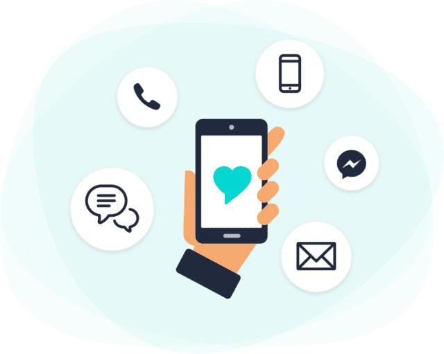 Rep: un servicio de asistencia multicanal para cliente de Shopify