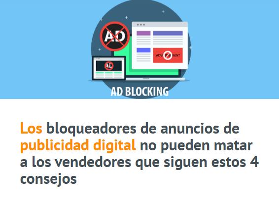 eCommerce: Los Adblockers no te pueden con estos 4 consejos